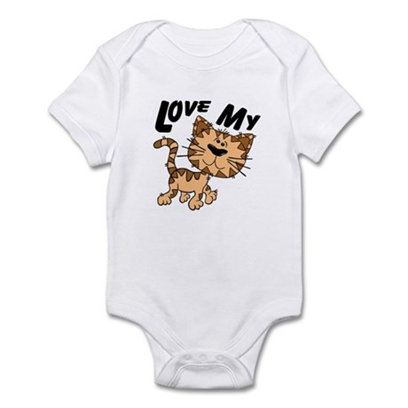 Love My Cat Infant Bodysuit