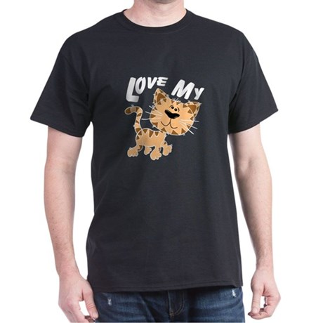 Love My Cat Dark T-Shirt