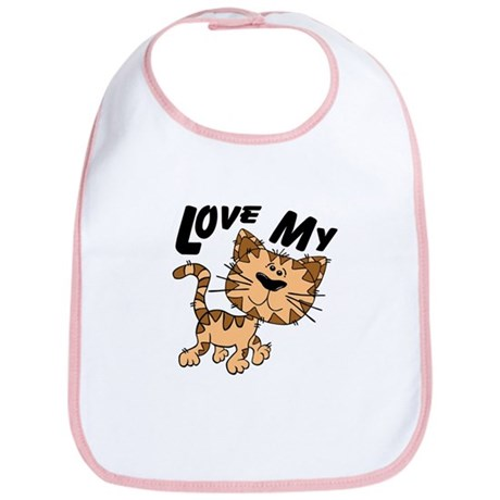 Love My Cat Bib