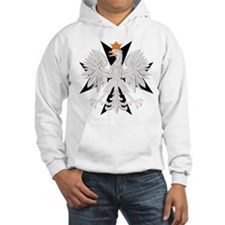 Polish Eagle Black Maltese Cr Hoodie