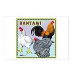 Bantam Chickens Postcards (Package of 8)