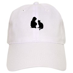 Child and Cat Cap