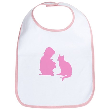 Child and Cat Bib