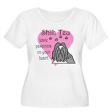Shih Tzu Pawprints T-Shirt