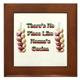 There's No Place Like Nonna's Cucina Framed Tile