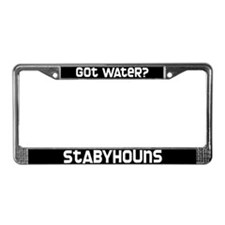 got water? Stabyhoun License Plate Frame