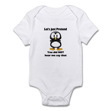 Pretend Penguin Infant Bodysuit