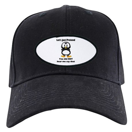 Pretend Penguin Black Cap