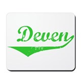 Deven Vintage (Green) Mousepad