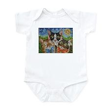 Cute See no evil Infant Bodysuit
