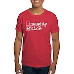 nice. naughty. Dark T-Shirt