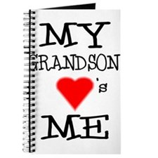 My Grandson Loves Me Journal