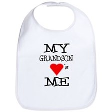My Grandson Loves Me Bib