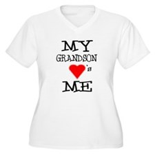 My Grandson Loves Me T-Shirt