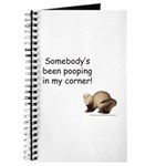 Poop in My Corner Journal