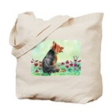 Australian Terrier &quot;Gardening&quot; Tote Bag