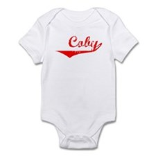 Coby Vintage (Red) Infant Bodysuit