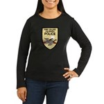 Fort Collins Police Women's Long Sleeve Dark T-Shi