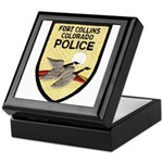 Fort Collins Police Keepsake Box