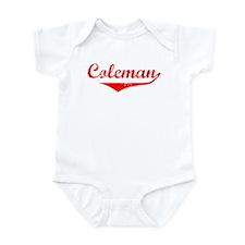 Coleman Vintage (Red) Infant Bodysuit