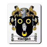 Mangan Coat of Arms Mousepad