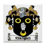 Mangan Coat of Arms Ceramic Tile