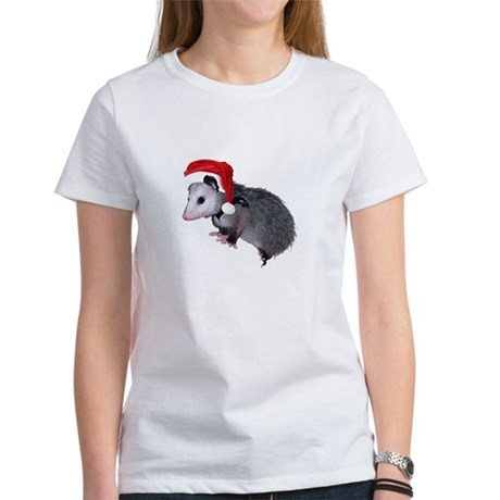 Santa Possum Women's T-Shirt