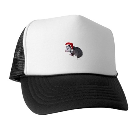 Santa Possum Trucker Hat