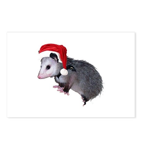 Santa Possum Postcards (Package of 8)