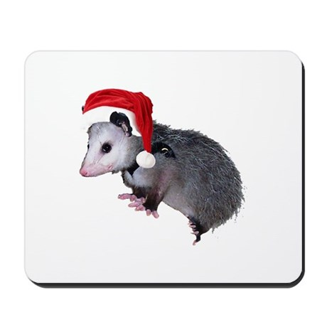 Santa Possum Mousepad