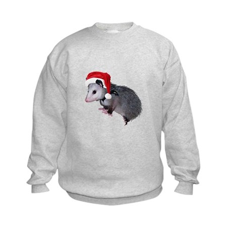 Santa Possum Kids Sweatshirt