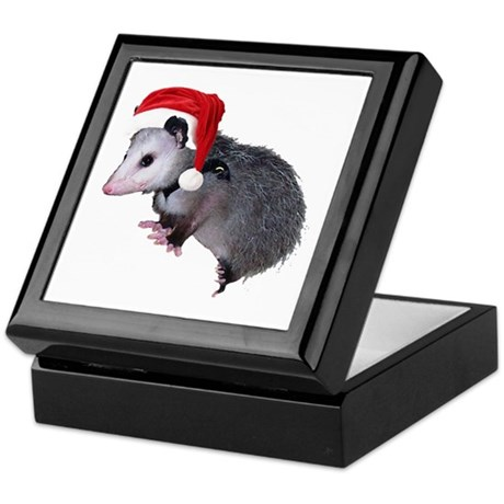 Santa Possum Keepsake Box