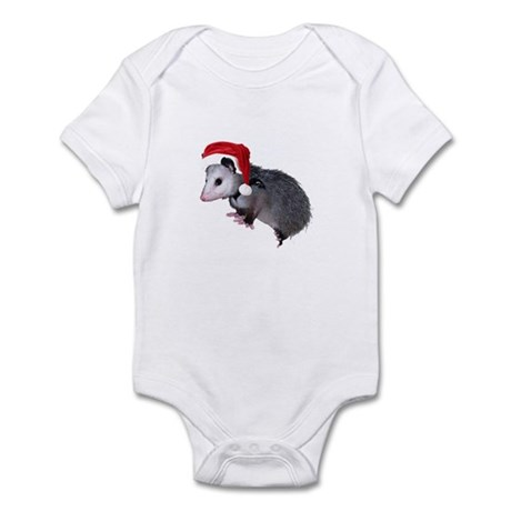 Santa Possum Infant Bodysuit