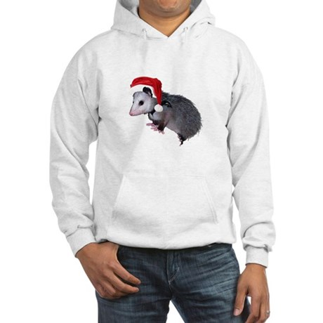 Santa Possum Hooded Sweatshirt