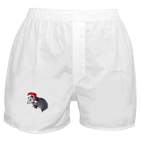 Santa Possum Boxer Shorts