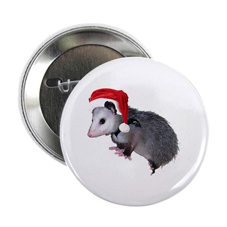 "Santa Possum 2.25"" Button (10 pack)"