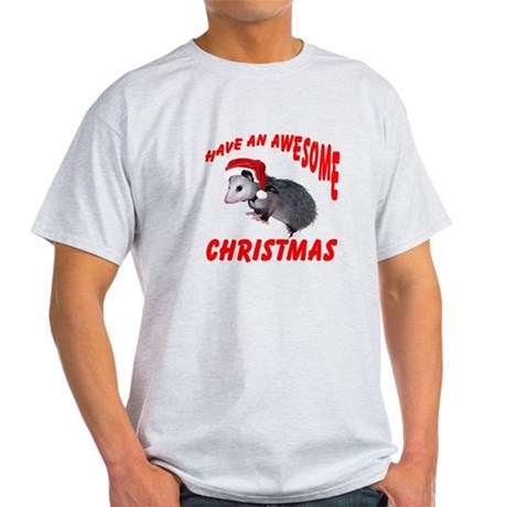 Santa Helper Possum Light T-Shirt