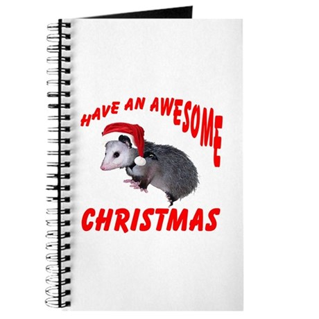Santa Helper Possum Journal