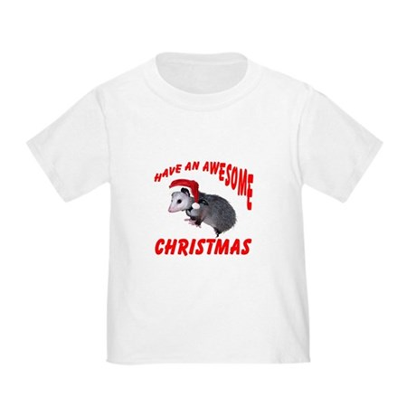 Santa Helper Possum Toddler T-Shirt