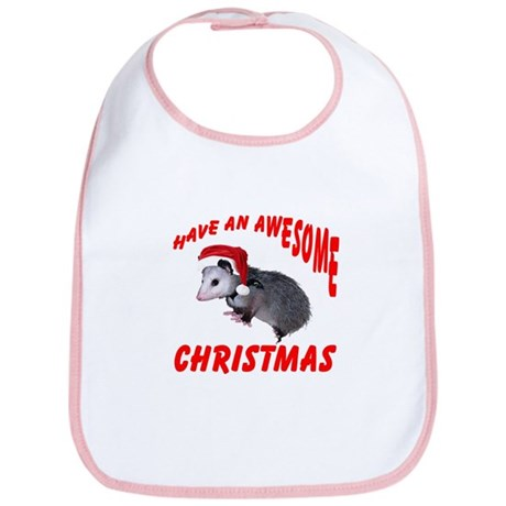 Santa Helper Possum Bib