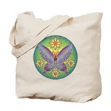Celtic Butterfly (violet) Tote Bag