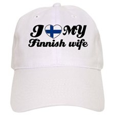I love my Finnish wife Baseball Cap