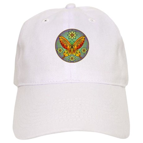 Celtic Butterfly (orange) Cap