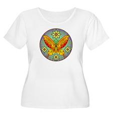 Celtic Butterfly (orange) T-Shirt
