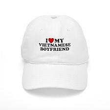 I Love My Vietnamese Boyfriend Baseball Cap