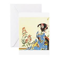 Geisha Greeting Cards (Pk of 20)