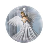 Angelic Beauty Ornament (Round)