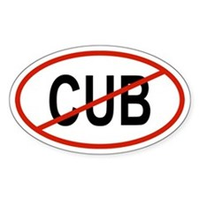 CUB Oval Decal