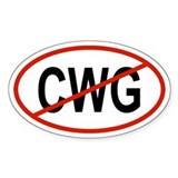 CWG Oval Decal