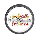 Musically Inclined Wall Clock